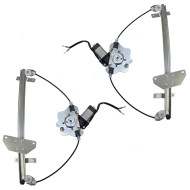 Picture of 00-04 Volvo S40 V40 New Pair Set Front Power Window Lift Regulators & Motors Assemblies