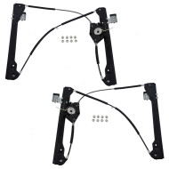 Picture of 98-10 VW Beetle New Pair Set Front Power Window Lift Regulators Aftermarket