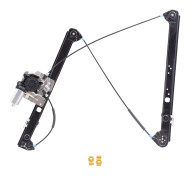 Picture of 00-06 BMW X5 New Passengers Front Power Window Lift Regulator with Motor & Channel Guide Clips