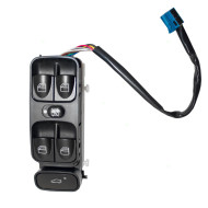 Picture of 01-07 Mercedes-Benz C-Class W203 New Drivers Front Power Window Master Control Switch Lever Assembly