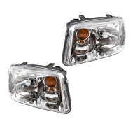Picture of 02-05 VW Volkswagen Jetta Gen 4 New Pair Set Headlight Headlamp Housing Assembly DOT