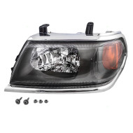 Picture of 00-04 Mitsubishi Montero Sport New Drivers Headlight Headlamp with Chrome Bezel DOT