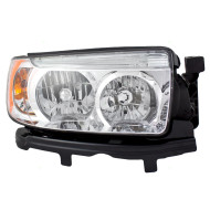 Picture of 06-08 Subaru Forester New Passengers Halogen Headlight Headlamp Lens Housing Assembly DOT