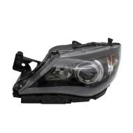 Picture of 08-11 Subaru Impreza & WRX New Drivers Halogen Headlight Headlamp Lens w/ Black Bezel DOT