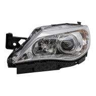Picture of 08-11 Subaru Impreza & WRX New Drivers Halogen Headlight Headlamp Lens Chrome Bezel DOT