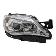 Picture of 08-11 Subaru Impreza & WRX New Passengers Halogen Headlight Headlamp Lens Chrome Bezel DOT