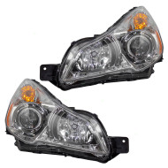 Picture of 10-12 Subaru Legacy Outback New Pair Set Headlight Headlamp Lens Housing Assembly DOT