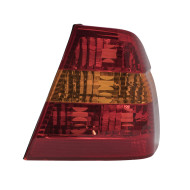 Picture of 02-05 BMW 3 Series New Driver's Taillight Quarter Mounted Red and Amber Lens Housing Assembly SAE DOT