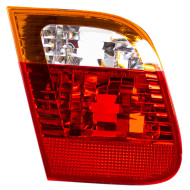 Picture of 02-05 BMW 3 Series New Drivers Back-Up Back Up Light Lamp Red and Amber Lens Housing DOT