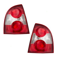 Picture of 01-05 VW Volkswagen Passat New Pair Set Taillight Taillamp Housing Assembly DOT