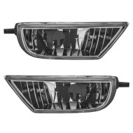 Picture of 00-02 Subaru Legacy New Pair Set Fog Light Lamp Lens Housing Assembly SAE