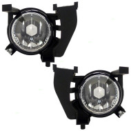 Picture of 06-08 Subaru Forester SUV New Pair Set Fog Light Lamp Lens Housing Assembly SAE Aftermarket