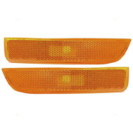 Picture of 01-05 VW Volkswagen Passat New Pair Set Signal Side Marker Light Amber Lamp Assembly DOT