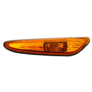 Picture of 02-05 BMW 3 Series New Drivers Signal Side Marker Light Repeater Lamp Amber Lens Housing