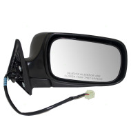 Picture of 04-08 Subaru Forester New Passenger's Power Side View Mirror Glass Housing Assembly Aftermarket