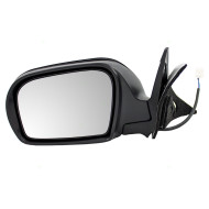 Picture of 08-13 Subaru Impreza New Drivers Power Side View Mirror Glass Housing Textured Assembly