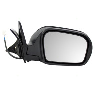 Picture of 08-13 Subaru Impreza New Passengers Power Side View Mirror Glass Housing Textured Assembly