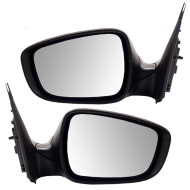 Picture of 12-15 Hyundai Accent New Pair Set Power Side View Mirror Glass Housing Heated Signal Assembly