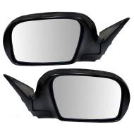Picture of 08-11 Subaru Impreza & 08-14 WRX New Pair Set Power Side View Mirror Glass Housing Heated