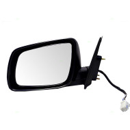 Picture of 08-13 Mitsubishi Lancer New Drivers Power Side View Mirror Glass Housing Heated