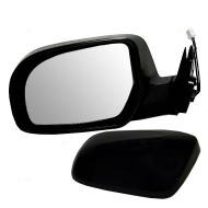 Picture of 11-13 Subaru Legacy Outback New Drivers Power Side View Mirror Glass Housing Heated with Smooth & Textured Covers