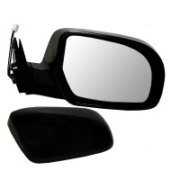 Picture of 11-13 Subaru Legacy Outback New Passengers Power Side View Mirror Glass Housing Heated with Smooth & Textured Cover