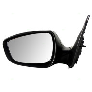 Picture of 12-15 Hyundai Accent New Drivers Power Side View Mirror Glass Housing Textured Assembly