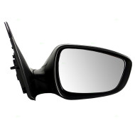 Picture of 12-15 Hyundai Accent New Passengers Power Side View Mirror Glass Housing Textured Assembly