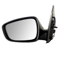 Picture of 12-15 Hyundai Accent New Drivers Power Side View Mirror Glass Housing Paint-to-Match Assembly