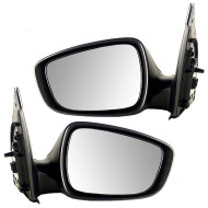 Picture of 12-15 Hyundai Accent New Pair Set Power Side View Mirror Glass Housing Paint-to-Match Assembly
