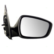 Picture of 12-15 Hyundai Accent New Passengers Power Side View Mirror Glass Housing Paint-to-Match Assembly
