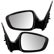 Picture of 12-15 Hyundai Accent New Pair Set Power Side View Mirror Glass Housing with Signal