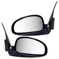 Picture of 01-06 Kia Optima New Pair Set Power Side View Mirror Glass Housing Assembly