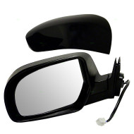 Picture of 11-14 Subaru Legacy Outback New Drivers Power Side View Mirror Glass Housing with Smooth & Textured Covers