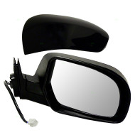 Picture of 11-14 Subaru Legacy Outback New Passengers Power Side View Mirror Glass Housing with Smooth & Textured Cover
