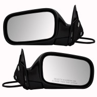 Picture of 00-04 Subaru Legacy New Pair Set Power Side View Mirror Glass Housing Assembly