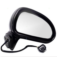 Picture of 06-12 Mitsubishi Eclipse New Passengers Power Side View Mirror Glass Housing Smooth Assembly