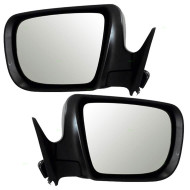 Picture of 05-08 Subaru Forester New Pair Set Power Side View Mirror Glass Housing Heat Heated Signal Puddle Lamp