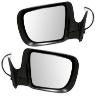 Picture of 05-08 Subaru Forester SUV New Pair Set Power Side View Mirror Glass Housing with Signal Lamp
