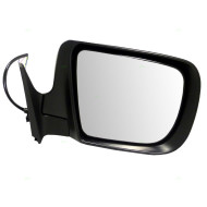 Picture of 05-08 Subaru Forester SUV New Passengers Power Side View Mirror Glass Housing with Signal Lamp