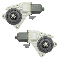 Picture of 06-10 Kia Optima New Pair Set Front Power Window Lift Motors Aftermarket Replacement