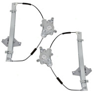 Picture of 00-05 Hyundai Accent New Pair Set Front Power Window Lift Regulators Aftermarket