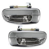 Picture of 00-05 Hyundai Accent New Pair Set Outside Outer Rear Chrome Specialty Door Handle Assembly
