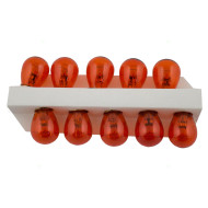 Picture of 2057 12V New Set of 10 Miniature Amber Bulbs