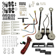 Picture of 2-Door Car Pickup Truck SUV Universal Electric Power Window Lift Regulator Roll Up Conversion Kit Assembly