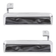 Picture of Ford Mercury New Pair Set Outside Exterior Door Handle Chrome Assembly