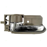 Picture of 03-07 Toyota Corolla New Drivers Inside Interior Chrome with Tan Door Handle Assembly