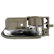 Picture of 03-07 Toyota Corolla New Passengers Inside Interior Chrome with Tan Door Handle Assembly