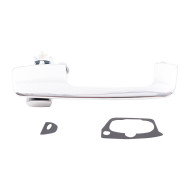 Picture of 78-93 Dodge Pickup New Exterior Front Passenger Chrome Door Handle Aftermarket Replacement