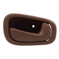 Picture of 98-02 Chevrolet Corolla Toyota Prizm New Passengers Inside Interior Door Handle Assembly Dark Brown